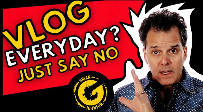 Vlog Everyday in April or August? VEDA!