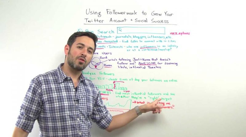 Using Followerwonk to Grow Your Twitter Account – Whiteboard Friday