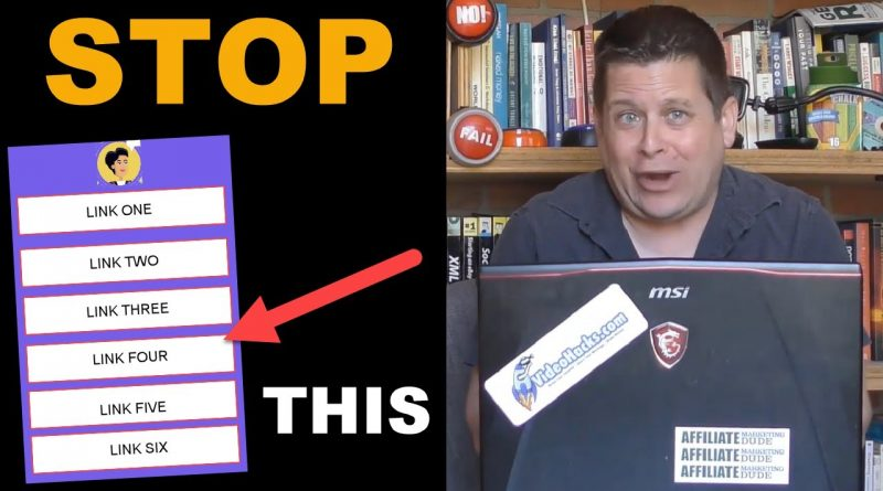 Stop Using These Social Link Sites – $2,513 LOST In One Day!