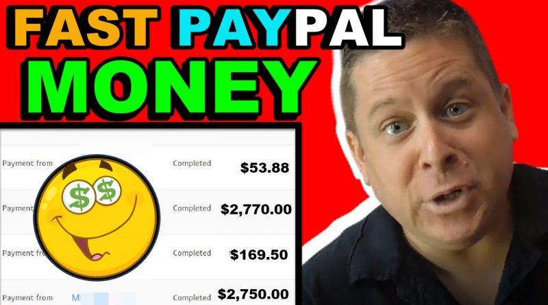 Earn Paypal Money – Fastest Possible Way (+ My $881 Secret)