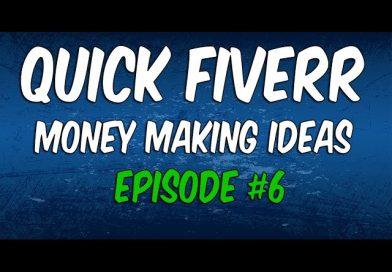 Make a Quick Buck On Fiverr