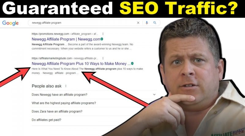 25 Minute Content Hack = Guaranteed Free Traffic?  (beginners rank #1)