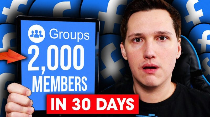 How To Grow A Facebook Group From Scratch FAST!