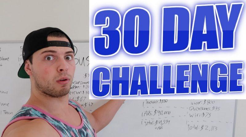 30 DAY CHALLENGE! Make Money & Win $250