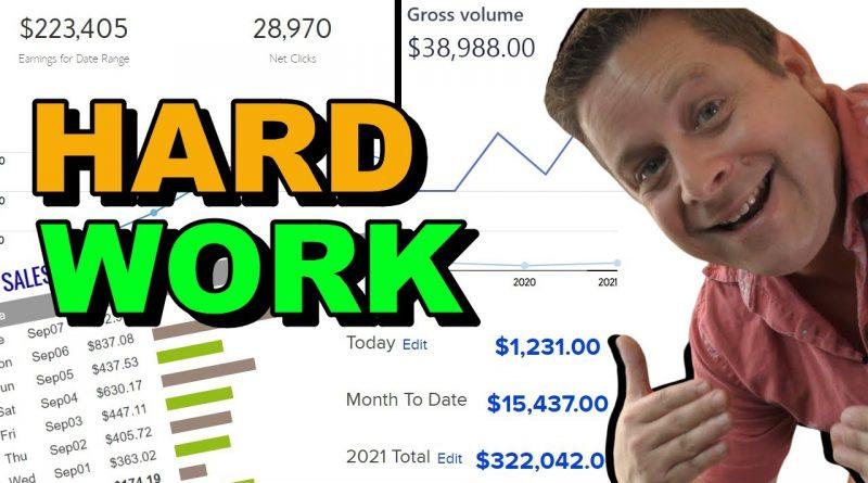 Hard Work = Zero To $10M – Aggressive Side Hustles!